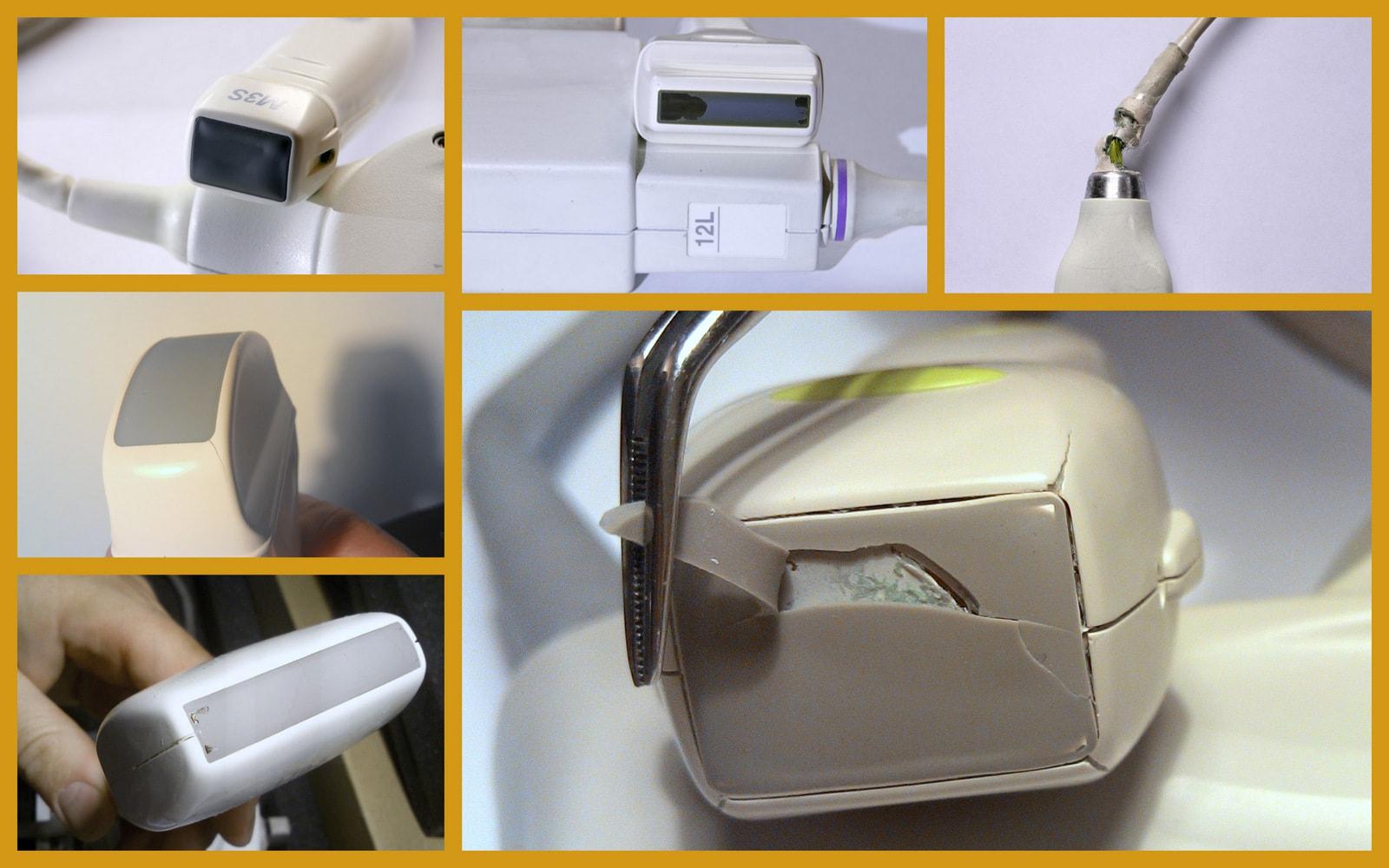 broken ultrasound probe repair