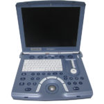 GE Volusion i portable 4D ultrasound machine