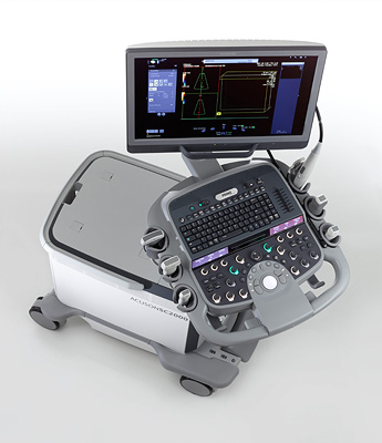Siemens SC2000 Portable Ultrasound Machine