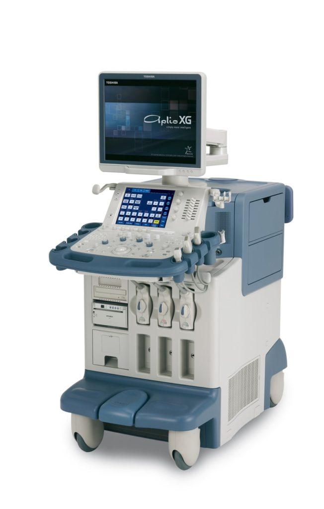 Toshiba Aplio XG ultrasound machine