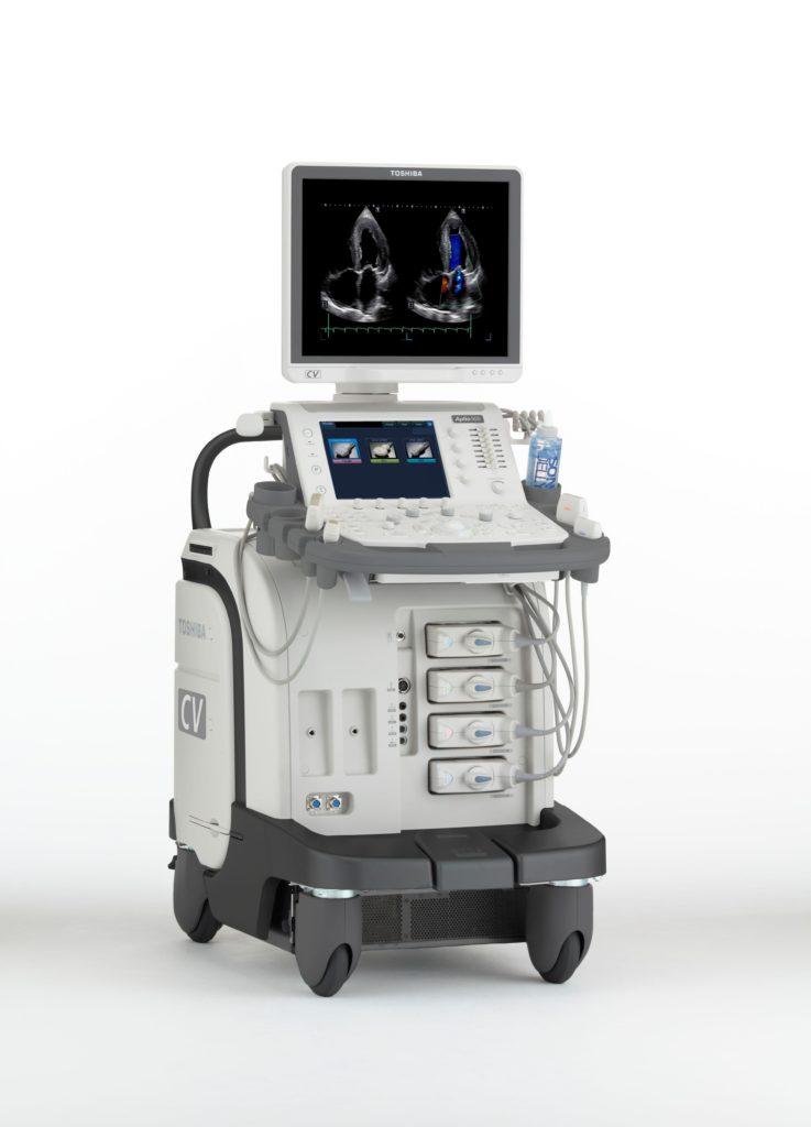 Toshiba Aplio 500 ultrasound machine