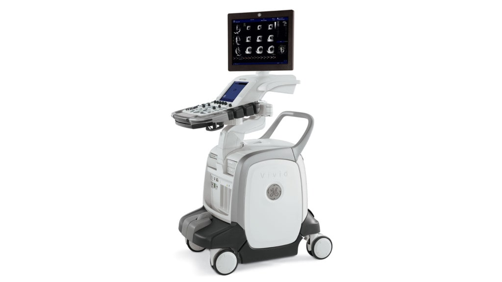 GE Vivid e9 Ultrasound Machine