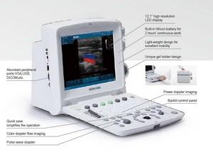 edan u50 prime color portable ultrasound system